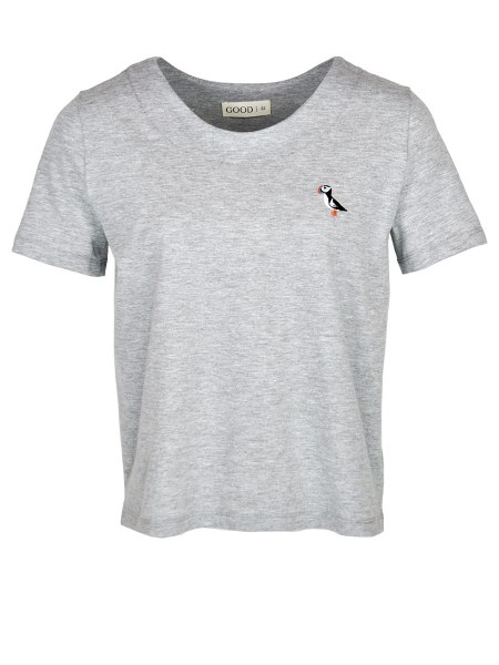 grey melange T-shirt for women South Africa