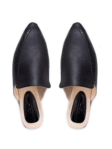 black leather mules South Africa