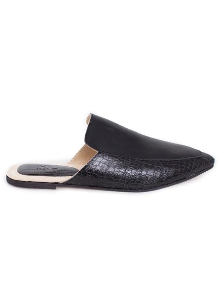 black leather slip on shoes for women South Africa