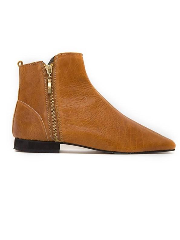 House of Cinnamon Suna Boots Tan Right