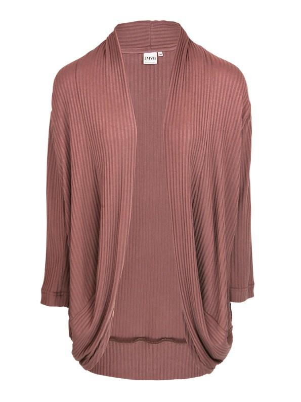 JMVB Lux Loungewear Cardigan Cognac _SHPN150