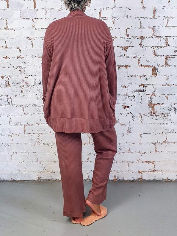 JMVB Lux Loungewear Set Back