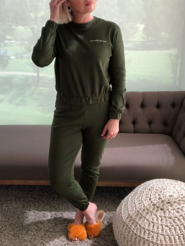 Mareth Colleen Tracksuit Olive Front 2