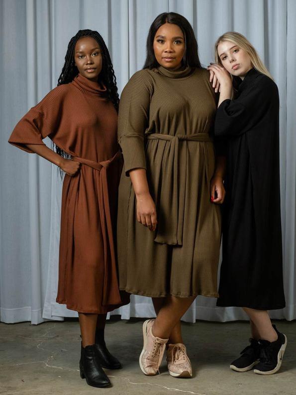 IDV Knit Polo Dress