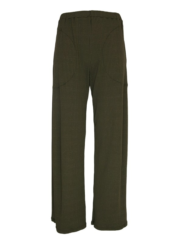 IDV Knit Ribbed Pants Olive