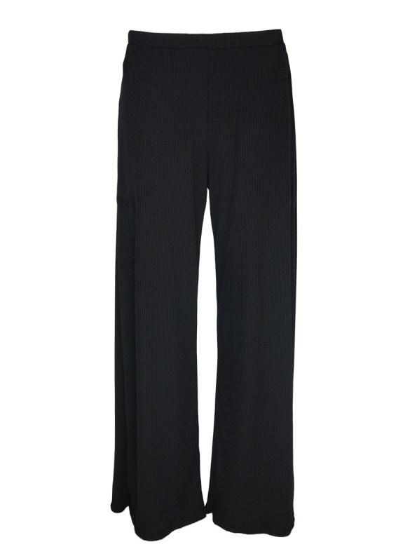 IDV Ribbed Knit Pants Black