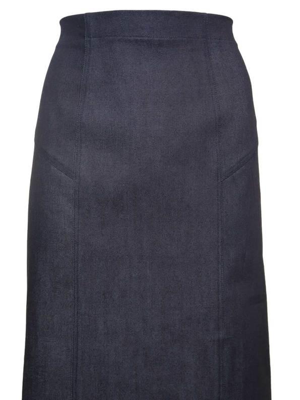 JMVB Demin Pencil Skirt Detail