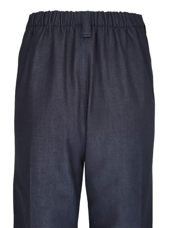 JMVB High Waisted Jeans Elasticated Back