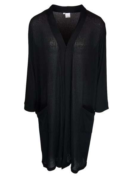 JMVB Long Sheer Cardigan Black