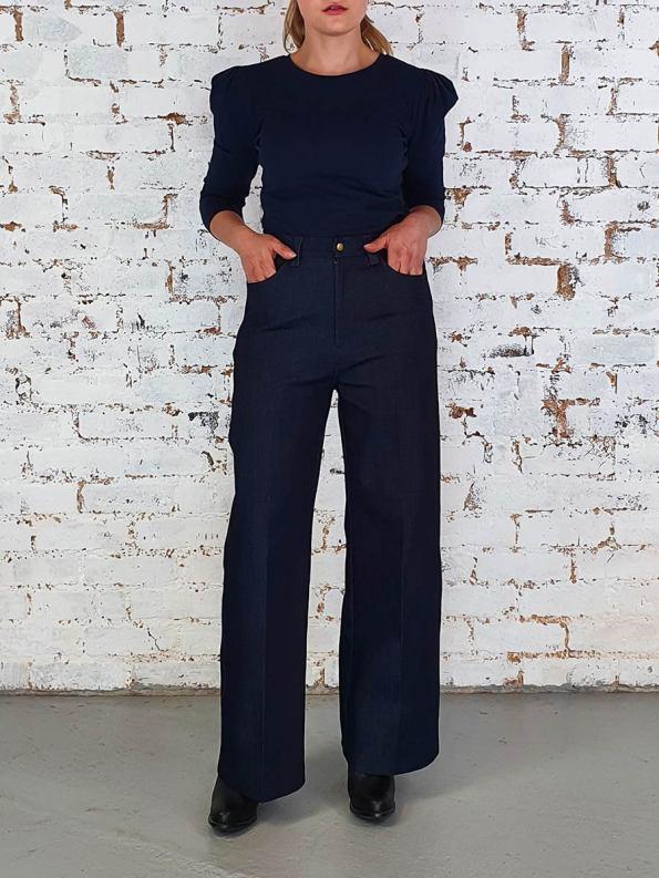 JMVB Straight Leg Jeans Indigo Front