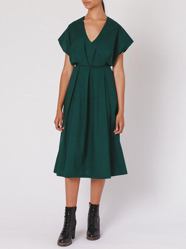 Mareth Colleen Hazel Dress Green Angle