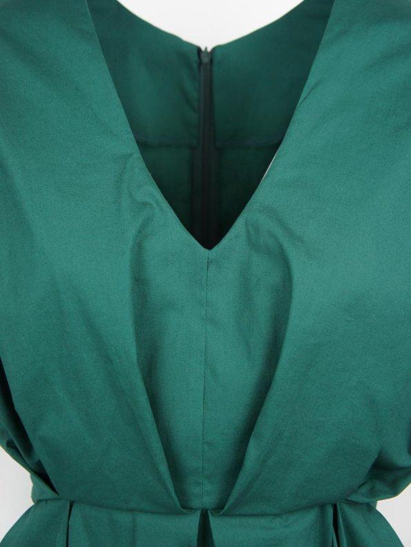 Mareth Colleen Hazel Dress Green Closeup