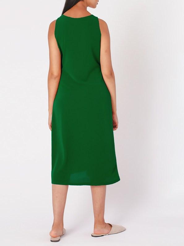 Mareth Colleen Mia Dress Green Back