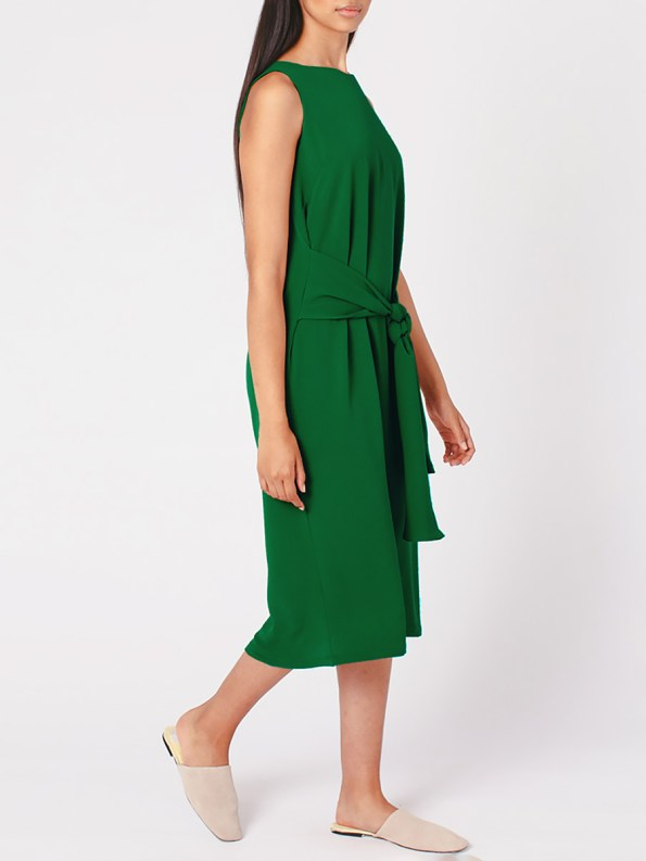 Mareth Colleen Mia Dress Green Side