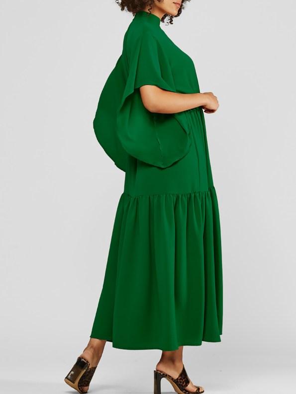 Mareth Colleen Tristan Dress Green Side