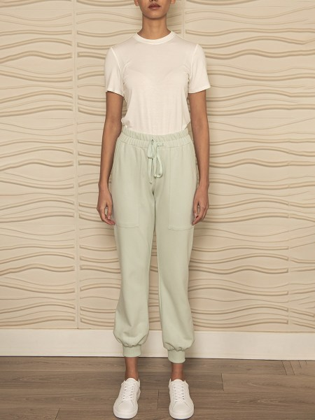 Organic cotton Mint Green Sweatpants South Africa