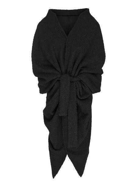 Black Shrug Teddy Coat South Africa