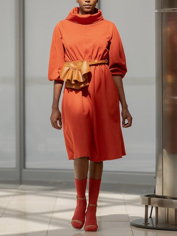 Erre Look 3 Dress Amber 1