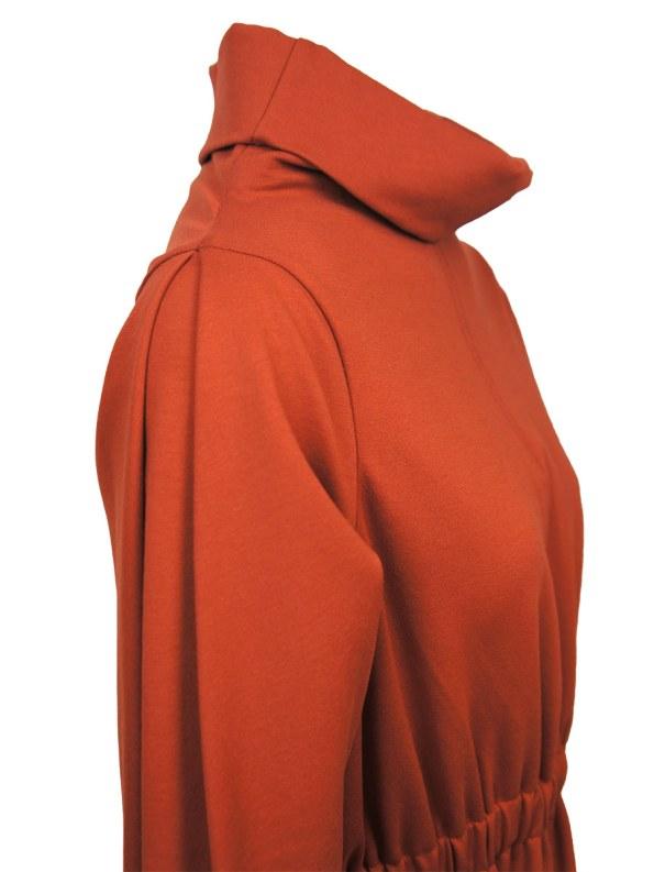 Erre Look 3 Dress Amber Neckline