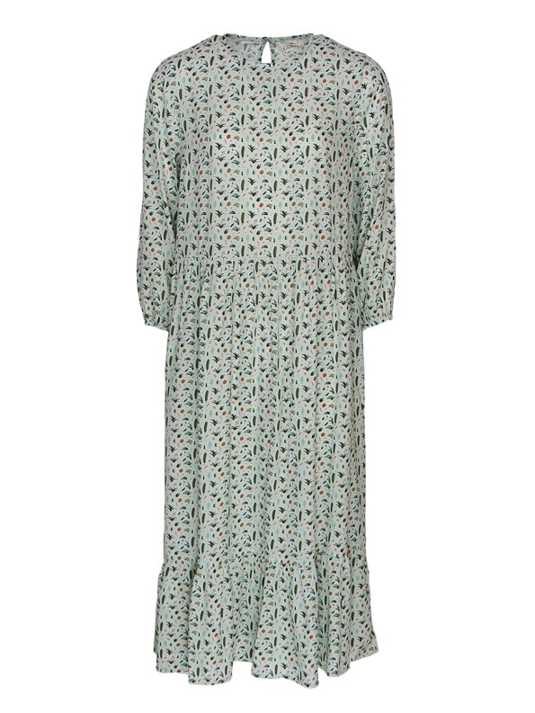 Good Tea Frill Dress Green Ditzy _SHPEN70 _NOIS20