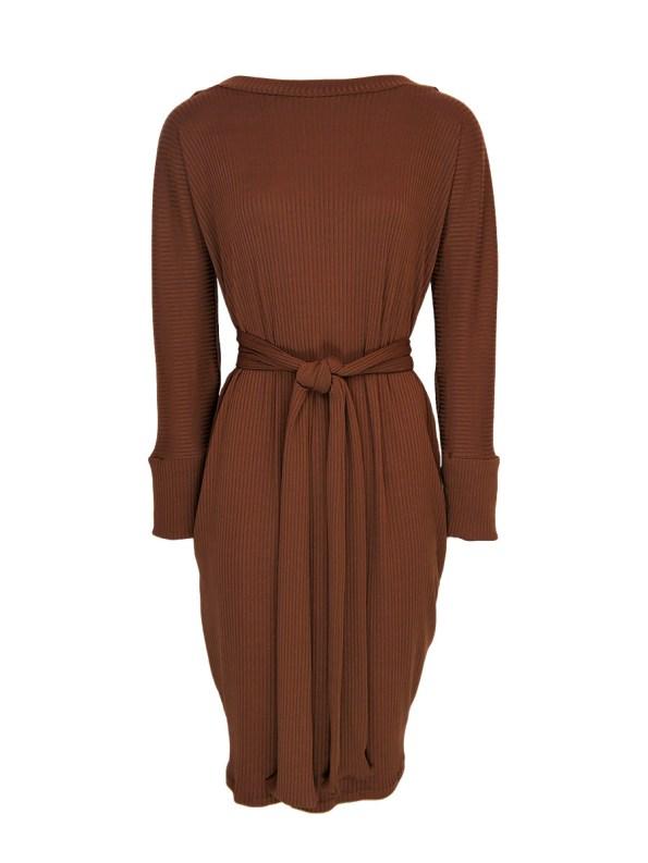 IDV Cocoon Knit Dress Copper