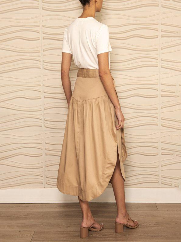 Smudj Philomena Petal Skirt Back Angle