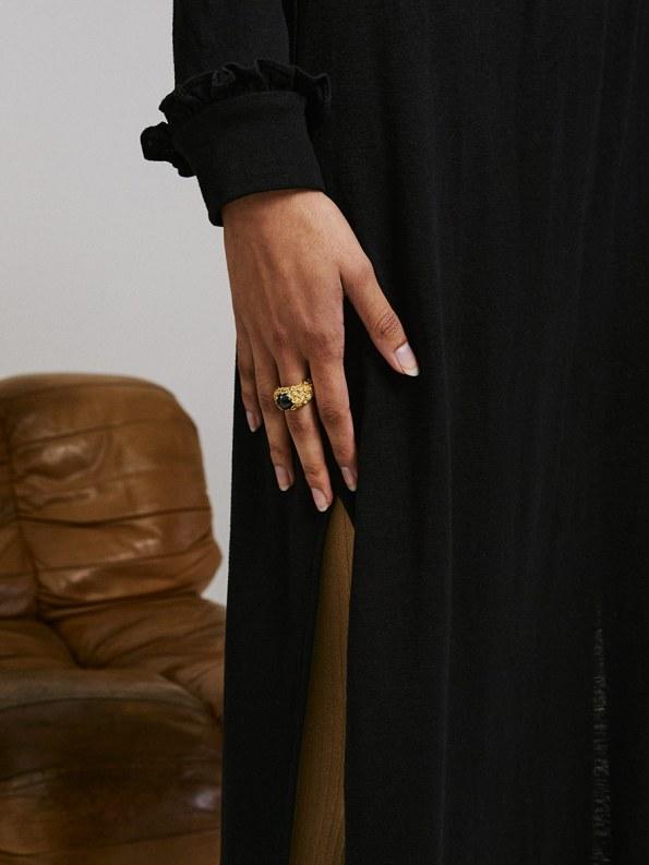 Asha Eleven Marefu Dress Black 1