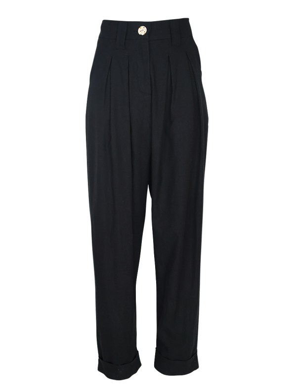 Asha Eleven Tembea Trousers Black