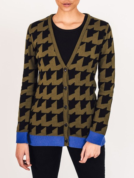 Olive green ladies cardigan South Africa