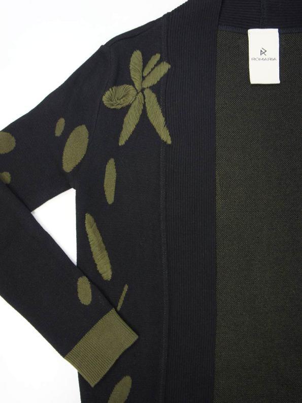 Romaria Flores Coat Side Detail