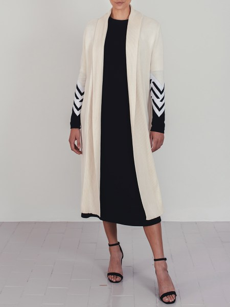 Cream knitted coat cardigan South Africa