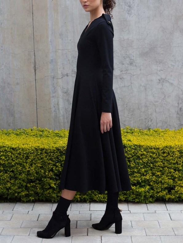 Erre Commander Dress Black 5