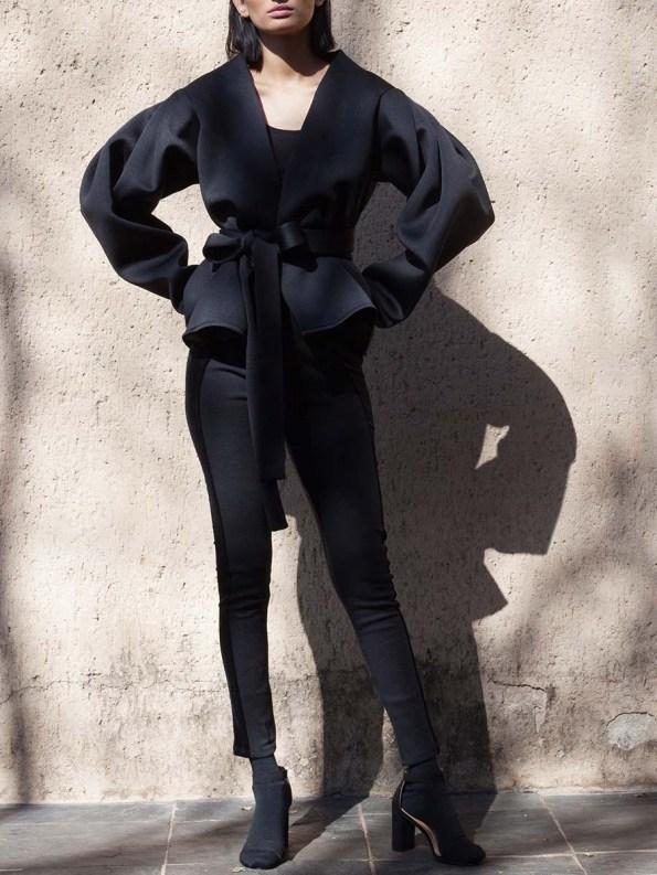 Erre Neoprene Jacket Black 2
