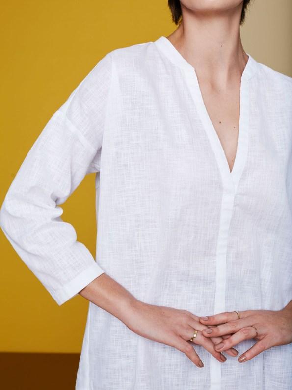 GOOD Bask Shirt White 2