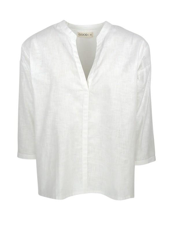GOOD Bask Shirt White