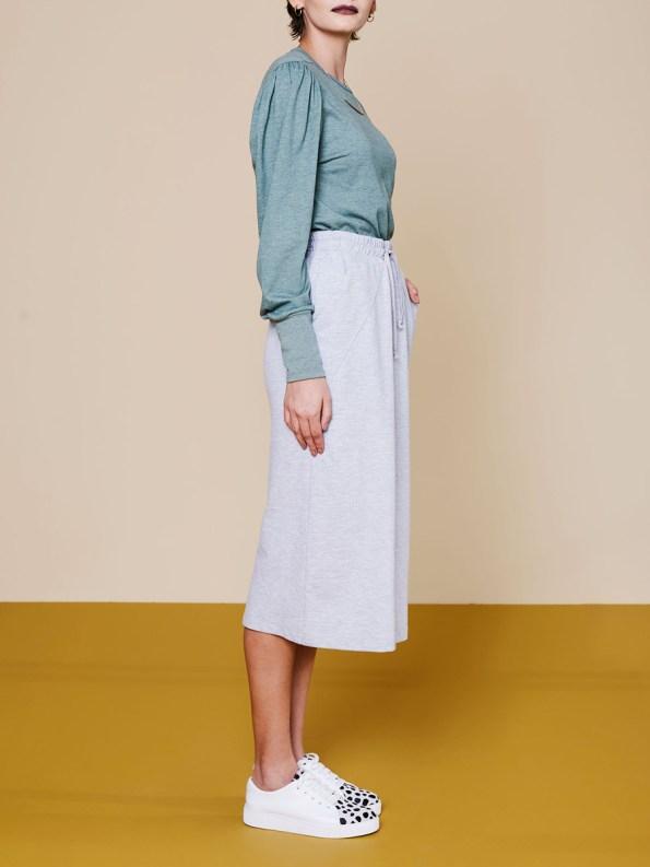 Good Lounge Skirt Grey 1