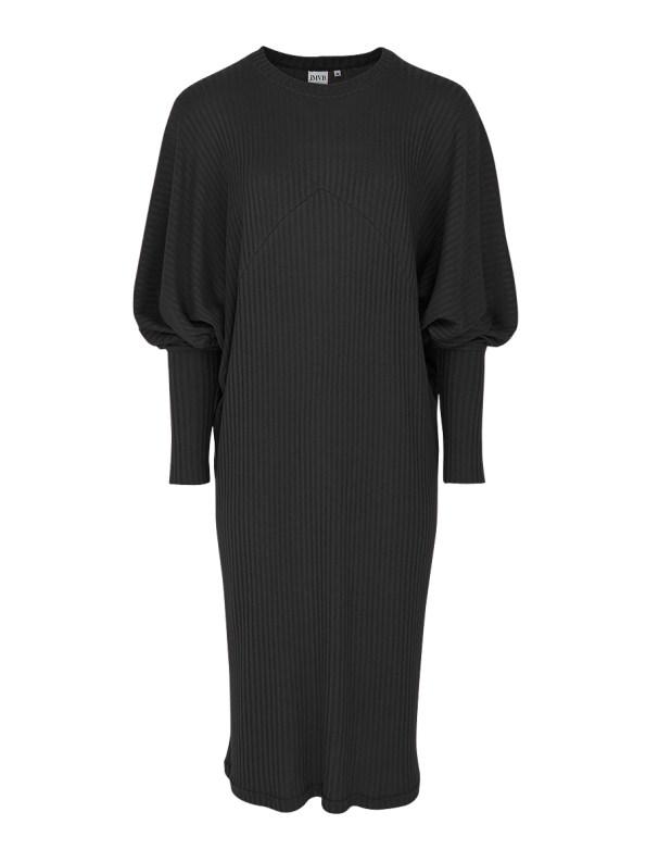 JMVB Knit Sweater Dress Black