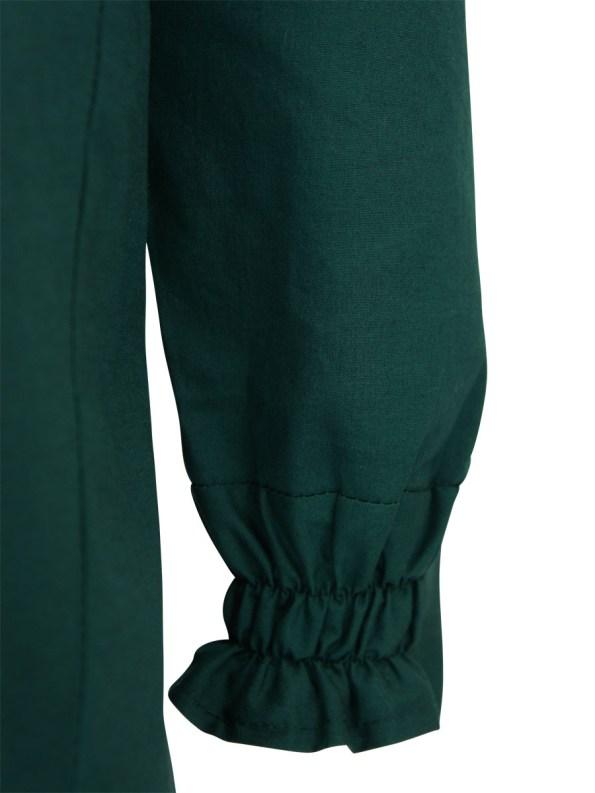 Mareth Colleen Ashley Shirt Green Detail