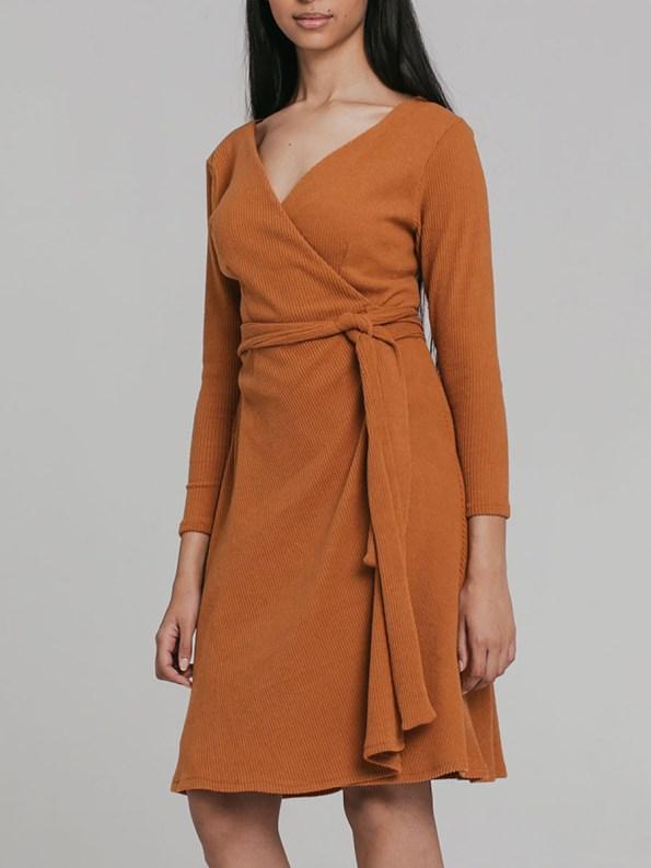 Mareth Colleen Suki Wrap Dress 2