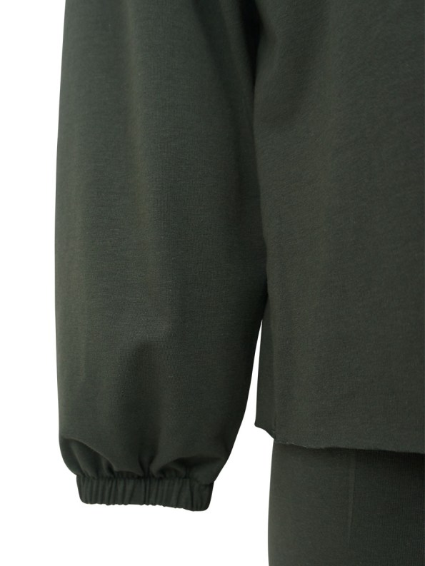 Mareth Colleen Sweater Outfit Olive Detail