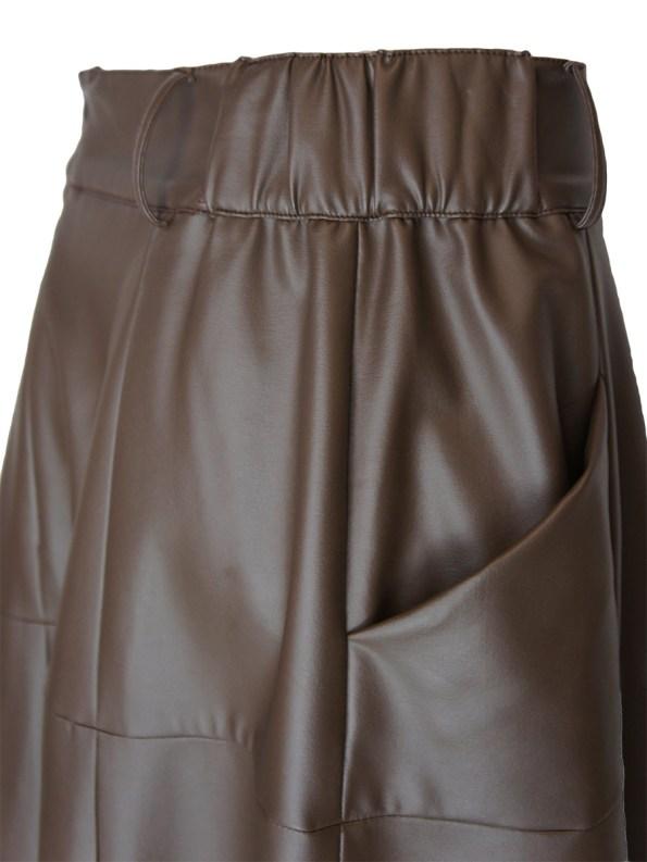 Smudj Esmay Skirt Brown Side_