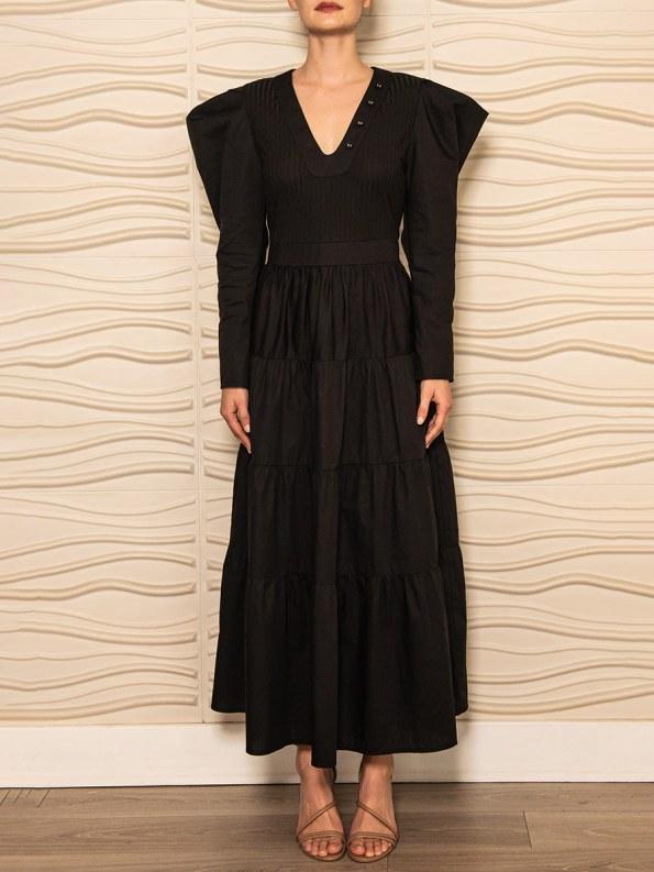 Smudj Flynn Dress Black 1