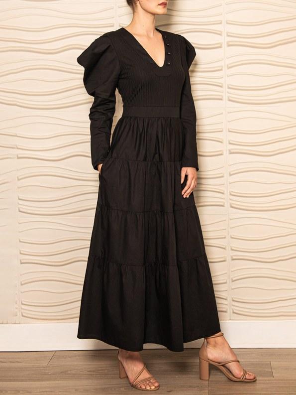 Smudj Flynn Dress Black 2