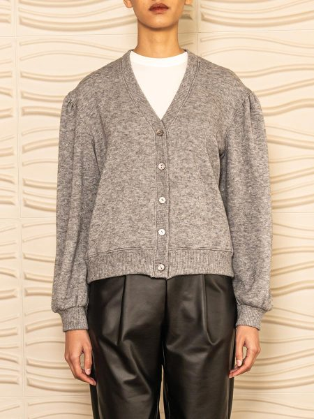 cropped grey cardigan Womens South Africa
