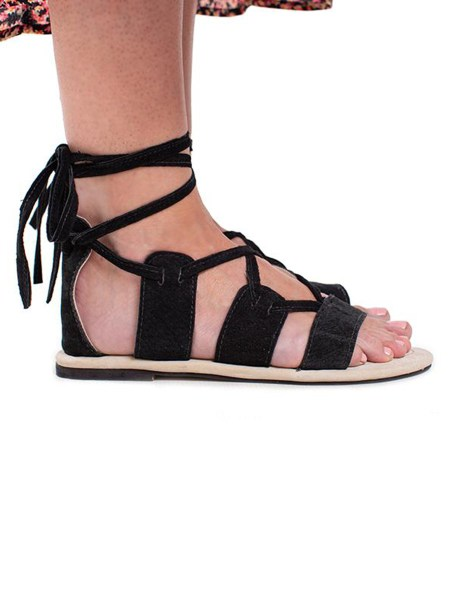 black strappy sandals South Africa
