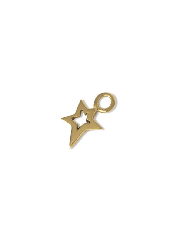 Kirsten Goss Lucky Star Charm Gold