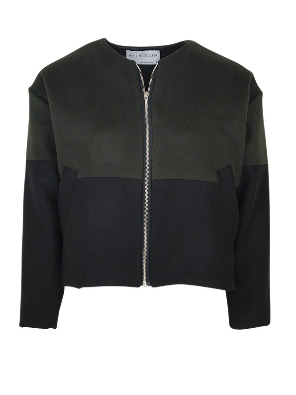 Mareth Colleen Tommy Jacket Olive
