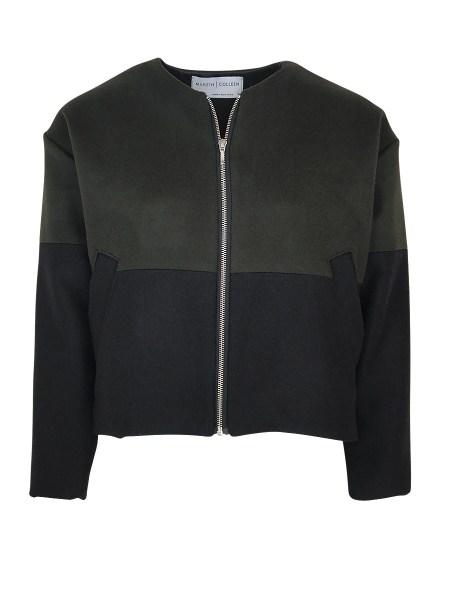 green bomber jacket womens