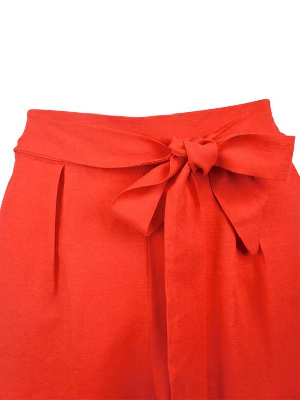 Good Ashley Pants Tangerine Detail