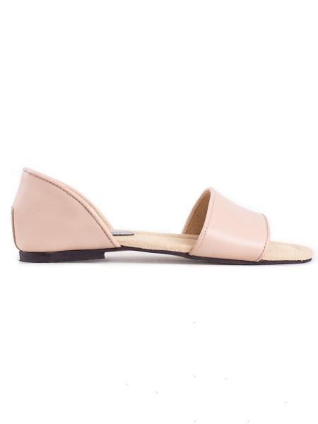 pink flat shoe